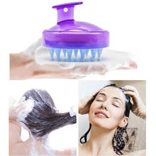 Dropship Head Scalp Massage Comb Soft Abody Hair Washing Shampoo Brushes Silicone Stress Release Too
