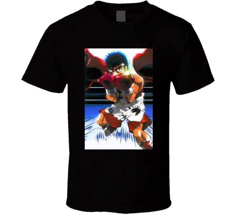 Camiseta para hombre, camiseta de Anime de boxeo de Hajime No Ippo, camiseta para mujer, camiseta