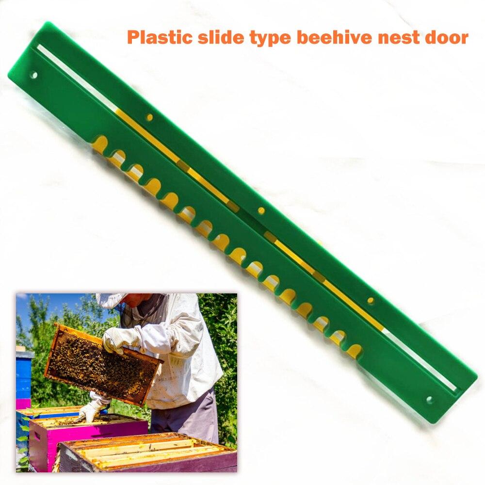 Beekeeping Anti-Escape Door Beehive Nest Vent Outlet Bee Anti-Runner Entrance Gate Beekeeper Keeping Tools Garden Supplies