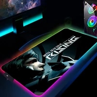 metal gear solid mouse pad gamer keyboard desk mat rgb anime mouse mats varmilo led glowing mousepad rubber computer rug 900x400