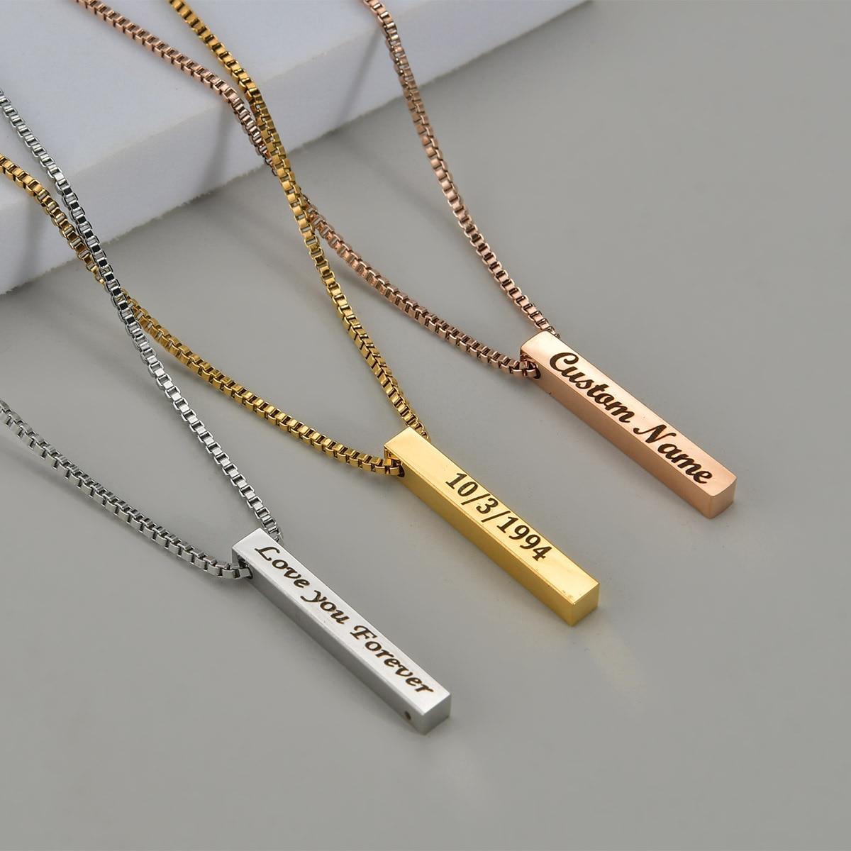 Четыре-стороны-гравировка-ожерелье-с-квадратной-подвеской-Новое-пользовательское-имя-ожерелье-ювелирные-изделия-нержавеющей-стали-цепи-к