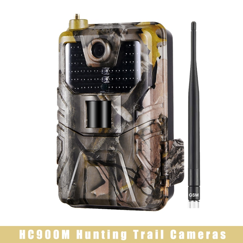 HC900M Hunting Trail Cameras IP65 Waterproof Night-Vision 2G Sms Mms Smtp Cameras Wildlife Trail Video Distance 1080P HD Camera