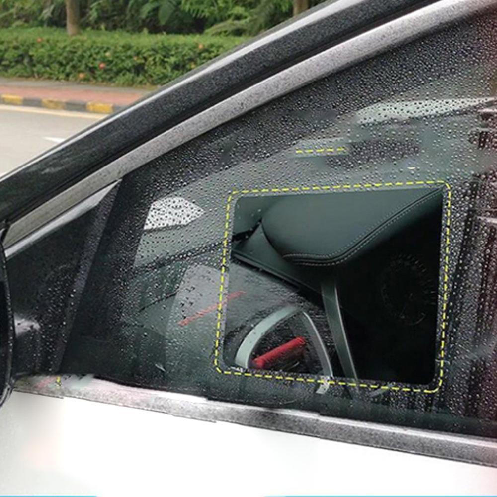 Espejo retrovisor para coche película impermeable revestimiento Reflector antiniebla Nano película inundación hidrofóbico espejo retrovisor Alta Luz