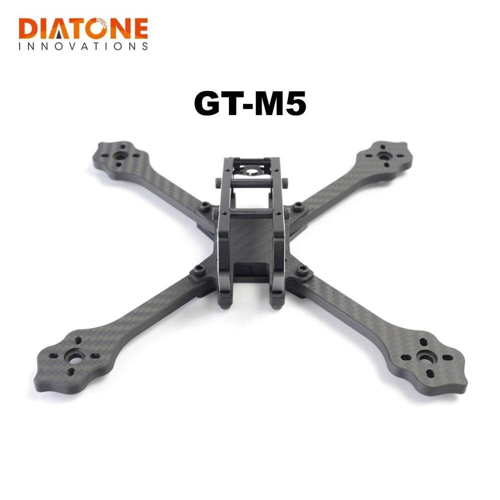 Diatone gt marauder gt m3 m5 tipo integrado x estiramento x tipo quadro kit para rc modelos multicopter motor esc parte acessórios