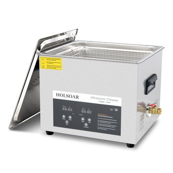 Ultrasonic Cleaner 15L 360W Ultrason Cleaner Bath with Heater Timer and Basket for Cleaning Jewelry Brass Ultrasonic Bath