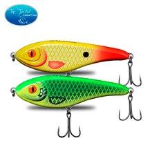 150mm 76g Colors 1-24 Slow Sinking Muskie Pike Taimen Hard Jerk Bait Fishing Lure Jerkbait