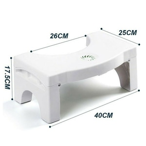 Folding Multi-Function Toilet Stool Portable Step for Home Bathroom MD7