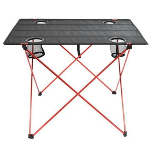 Picnic Camping Table Folding Beach Portable Fishing Tables Outdoor Backpacking Lightweight Roll-Up Desk Garden Furniture