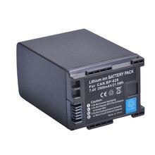 1pc 2900mAh BP-828 BP828 Batterie pour Canon HFM300 HFM30 HFG30 HFG10 HFM40 GX10 HFS30 HF20 HG20 G30 G40 XA20 XA25 BP 828 batterie