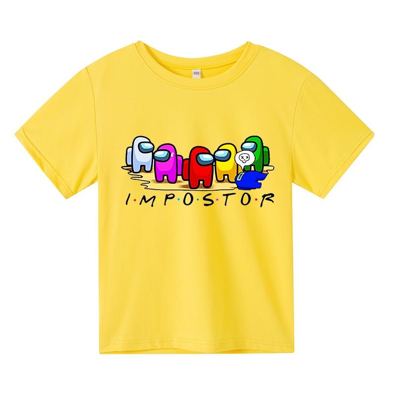 fun and funny fashion slogan t shirt summer pure cotton breathable o neck short sleeved t shirt new O-Neck Cotton T-shirt Fun Summer T-shirt baby Funny Anime With short sleeves Cute Children Clothing