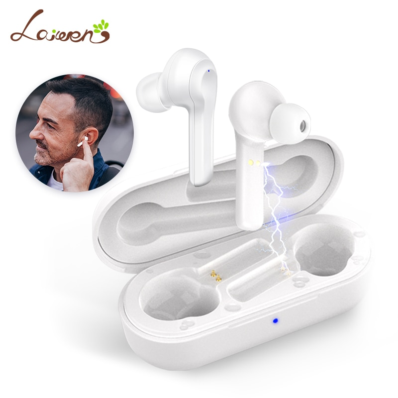 Promo Bluetooth Hearing aids Rechargeable Hearing Amplifier Touch Control Personal digital hearing aid for iPhone Android dropshipping
