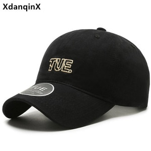 XdanqinX New Spring Cotton Baseball Caps For Men Women Casual ins Net Red Trend Sports Couple Cap Adjustable Size Snapback Cap
