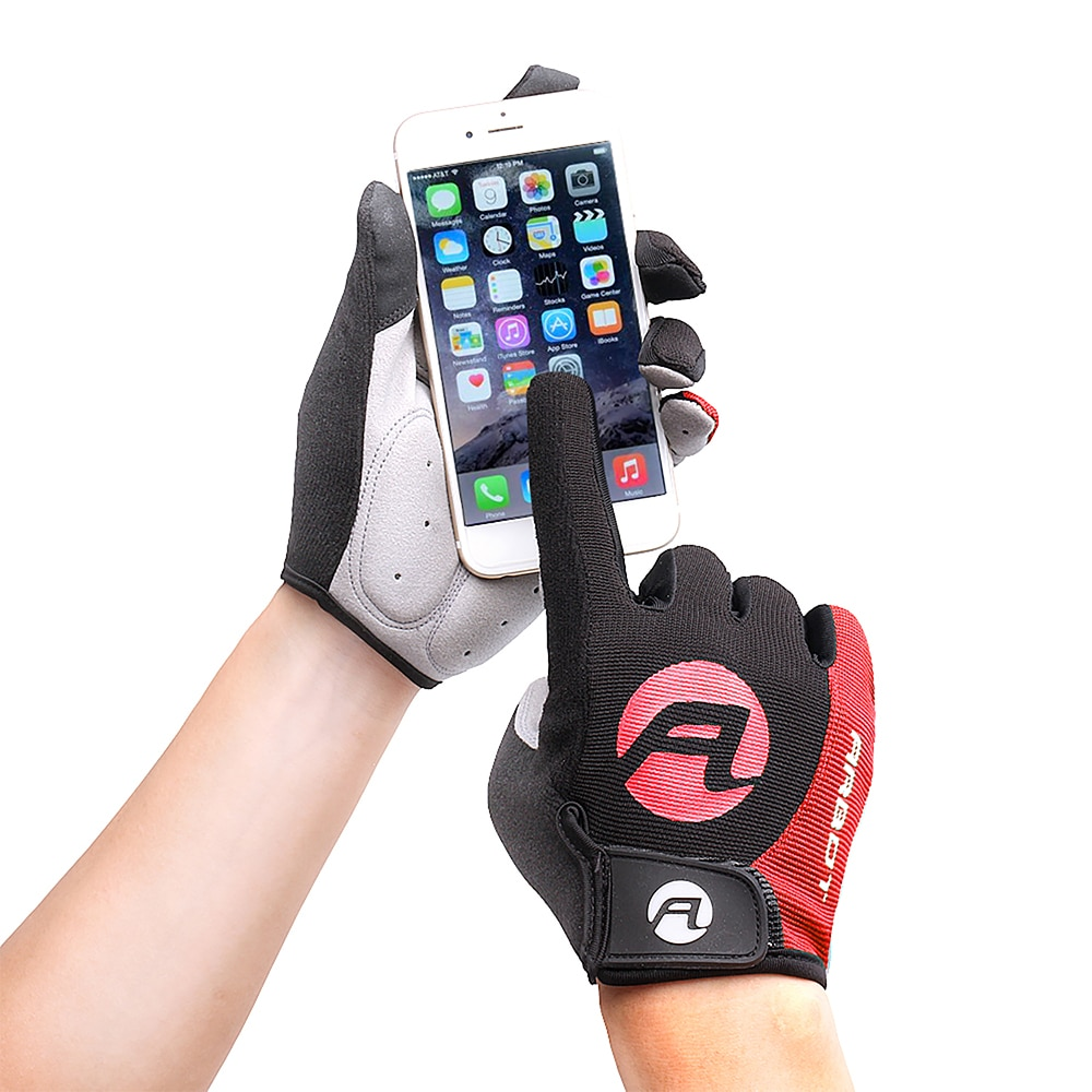 Cycling Gloves Full Finger Gloves Touch Screen Riding MTB Bicycle Gloves Anti Slip Gel Pad Motorcycl