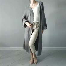 2021 Europe America New Women's Autumn Winter Casual Loose Sweater Solid Color Simplicity Long Sleev