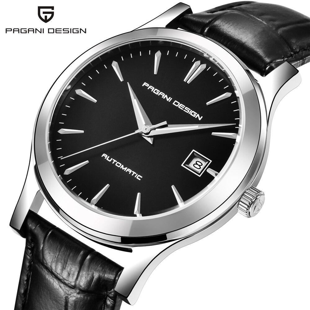 2021 جديد PAGANI تصميم العلامة التجارية الفاخرة الرجال ساعة ميكانيكية مقاوم للماء جلدية عادية ساعة رياضية سات Relogio Masculino