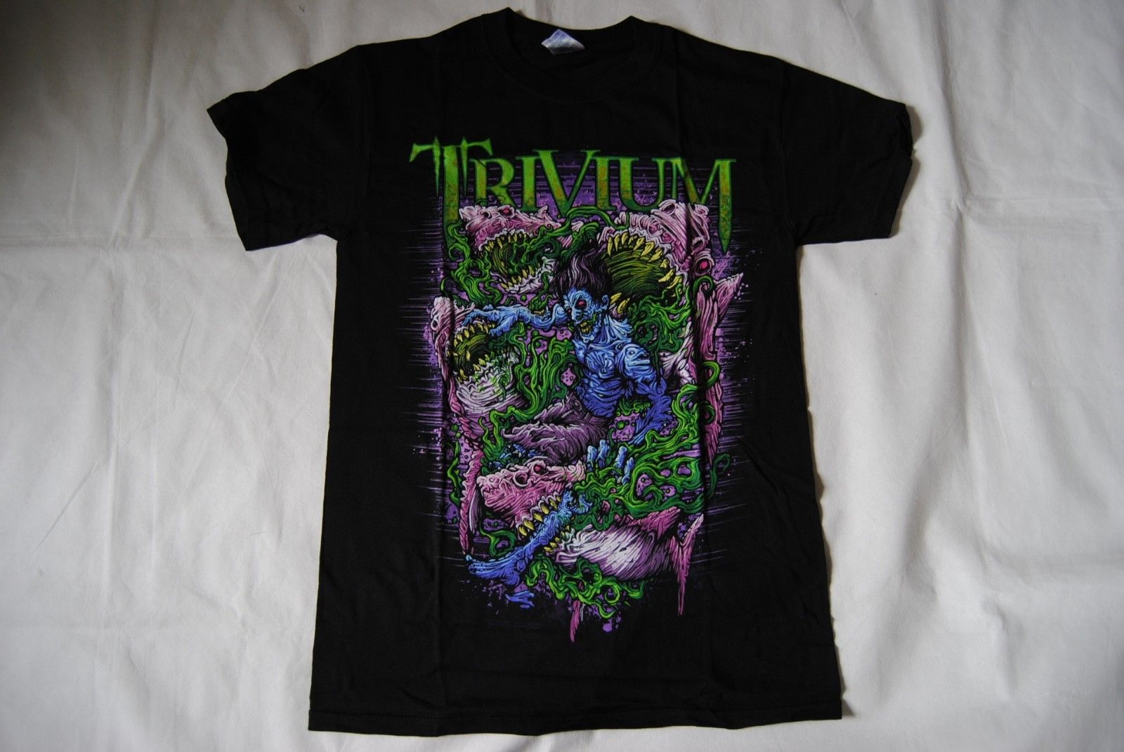 Футболка Trivium Zombie Sharks New Official In Waves Shogun Crusade