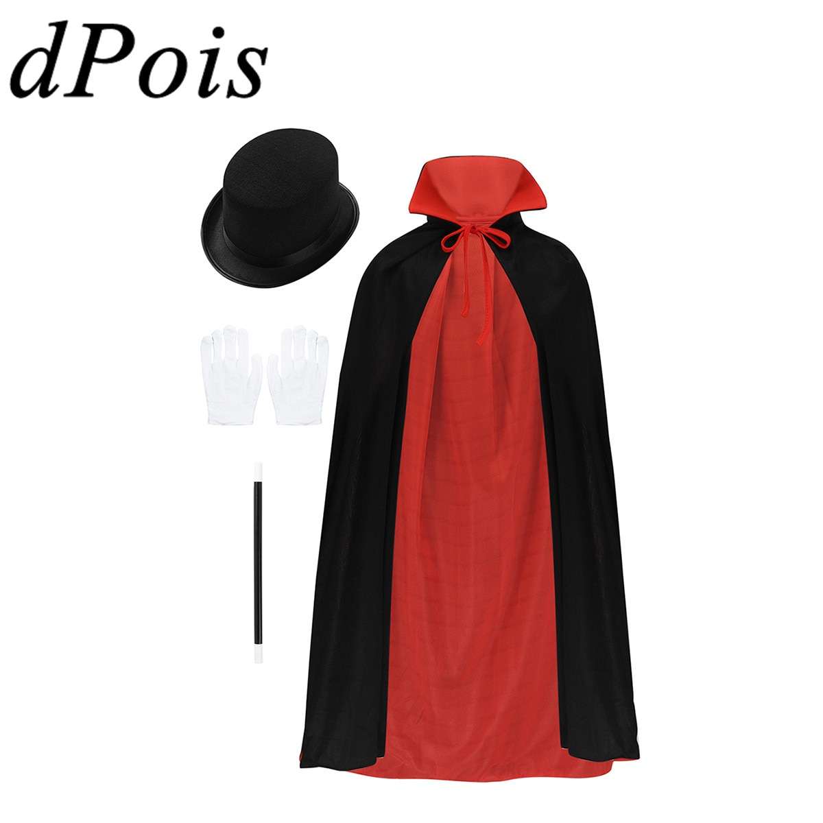 Детский костюм мага для мальчиков и девочек; Детский карнавальный костюм волшебника на Хэллоуин; маскарадный костюм для ролевых игр; нарядный костюм для вечеринки
