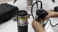 factory oem logo scuba led diving waterproof 100m underwater canister light
