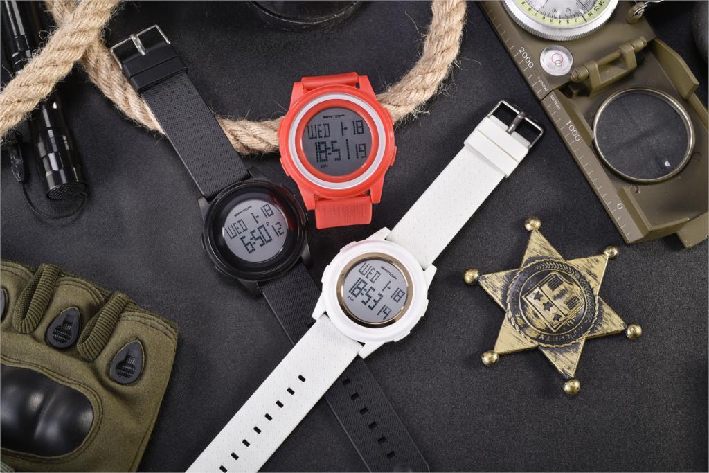 SANDA Sports Digital Wristwatch Man Luxury Famous Military Watch For Men Fashion  Electronic Clock Relogio Masculino Super Thin enlarge