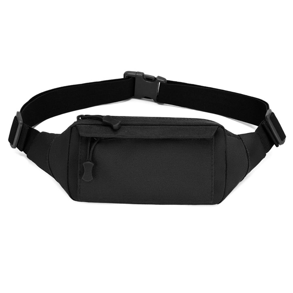 Outdoor Sports Tactical Waist Bag Gun Holster Military Combat Waist Fanny Pack Utility Nylon Shoulde