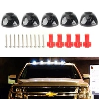 smoked lens rooftop cab white running light led for dodge 2500 1500 suv 3500 ram a7m5