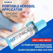 KOKA Inhaler For Pediatric And Adult Portable Oral Inhaler For Pediatric And Adult Aerosol Delivery For Asthma