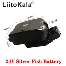 LiitoKala-batterie 24V, 10/12/15/20 ah, pour vélo pliable, pour tube de siège, petite grenouille, pour vélo électrique