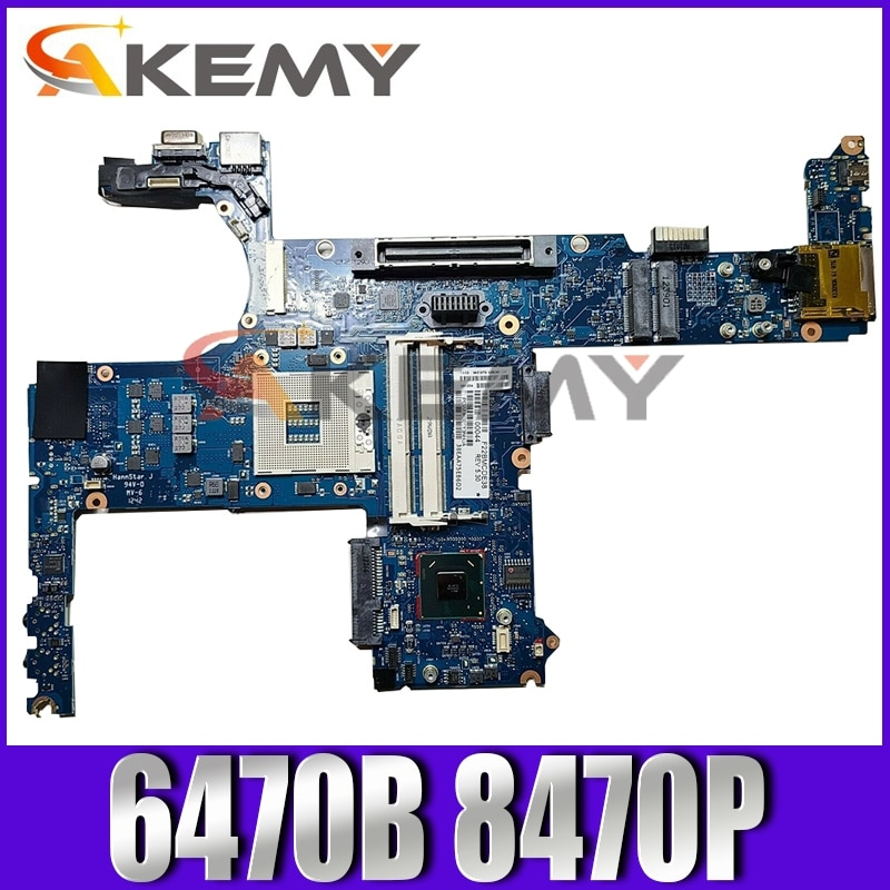 Placa-mãe do Portátil para hp Akemy Probook Mainboard 6050a2466401 687828-001 686037-601 Slj8a 6470b 8470p