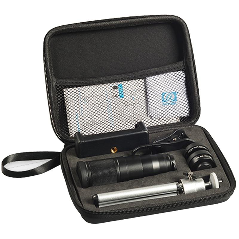 APEXEL Neue Telefon Kamera Objektiv Kit 4 in 1 Tele Zoom 22X Objektiv Teleskop Monokulare Weit Makro Fisheye Objektiv Stativ