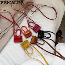 Mode luxe Super Mini brevet en cuir sac à main J lettre sac à bandoulière femmes concepteur sac à bandoulière dame messager petit sac à main
