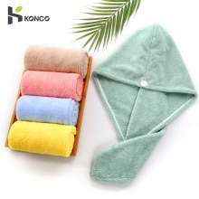 Microfiber Towel Hair Dry Quick Drying Womens Girls Towel Quick Dry Hair Hat Cap for Man Tools Turba