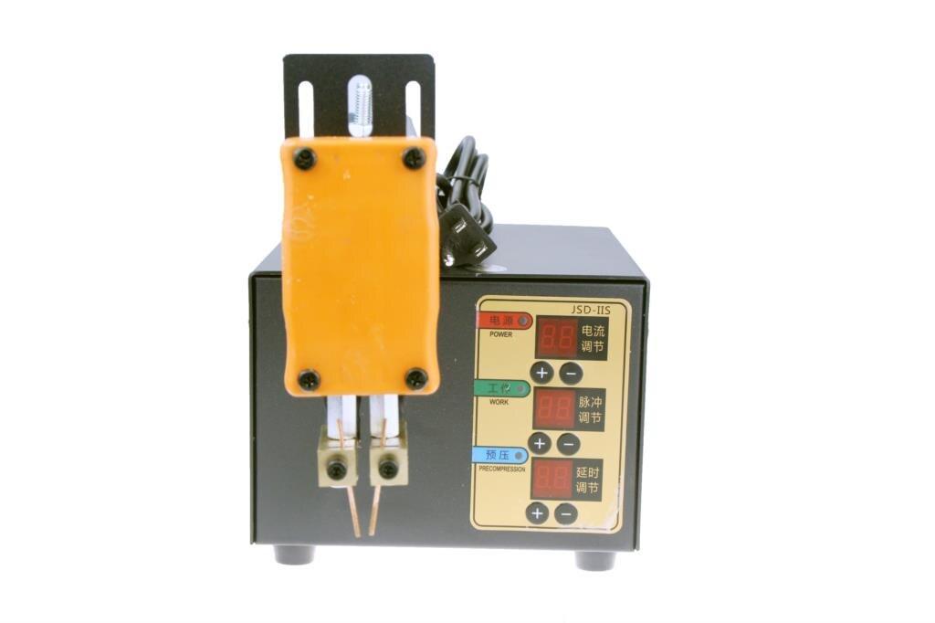 JSD-IIS New 3KW High Power Spot Welder For 18650 Lithium Battery Pack Weld Precision Pulse Spot Welding Machine 110V 220V