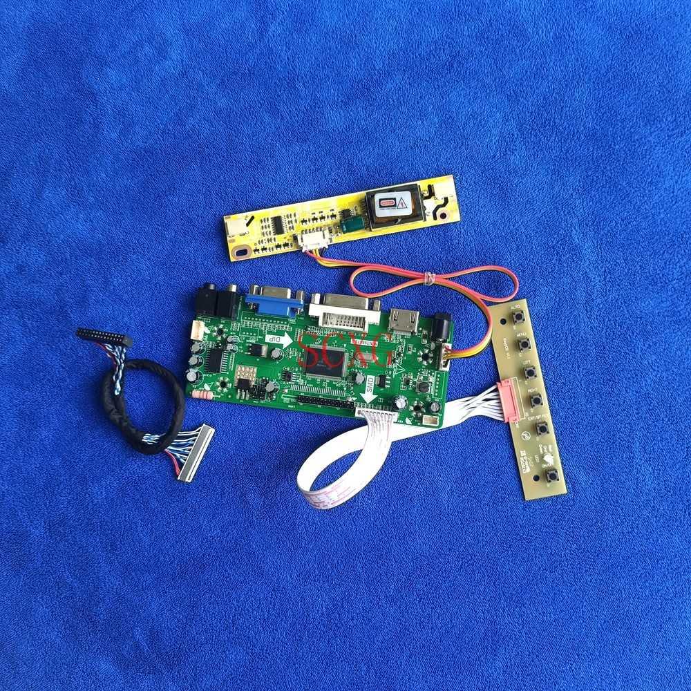 شاشات كريستال بلورية لـ LP171WP5/LP171WP6/LP171WP7 1440*900 M.NT68676 لوحة تحكم لتقوم بها بنفسك عدة HDMI-متوافق VGA DVI 2CCFL 30 Pin LVDS