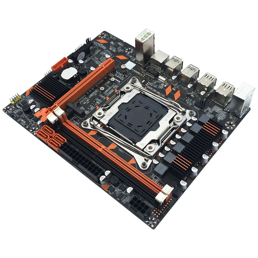 X99 DDR3 Motherboard Slot LGA2011-3 USB3.0 NVME M.2 SSD Support DDR3 Memory And Xeon E5 V3 Processor D4 RA enlarge