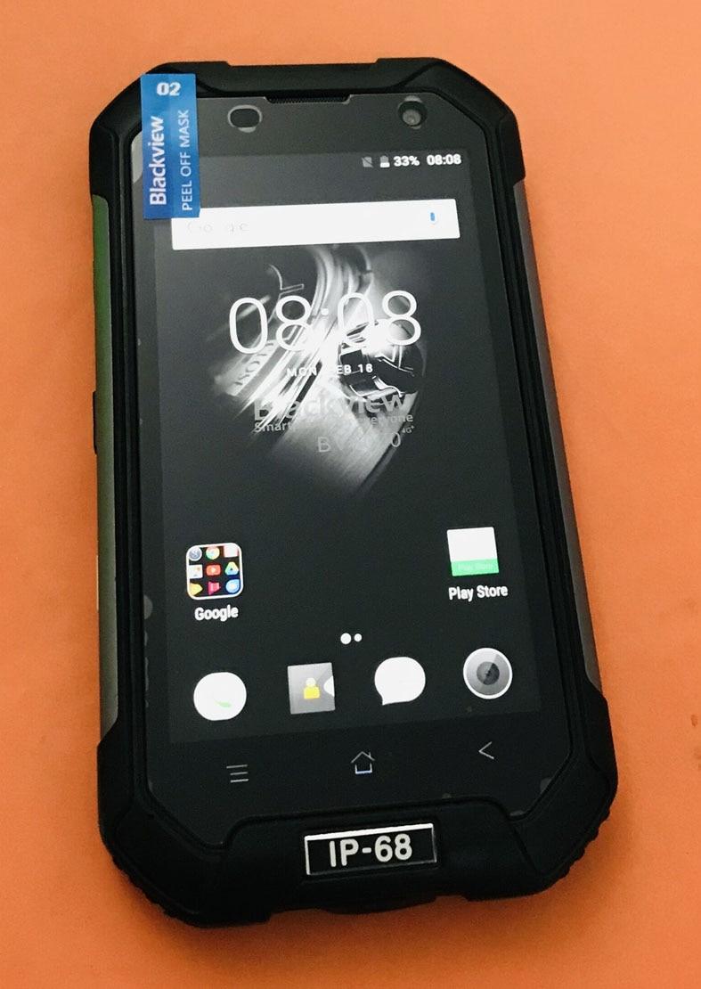 Оригинальный сенсорный экран и ЖК-дисплей + Материнская плата 2G + 16G для Blackview BV6000S MTK6737T четырехъядерный 4,7
