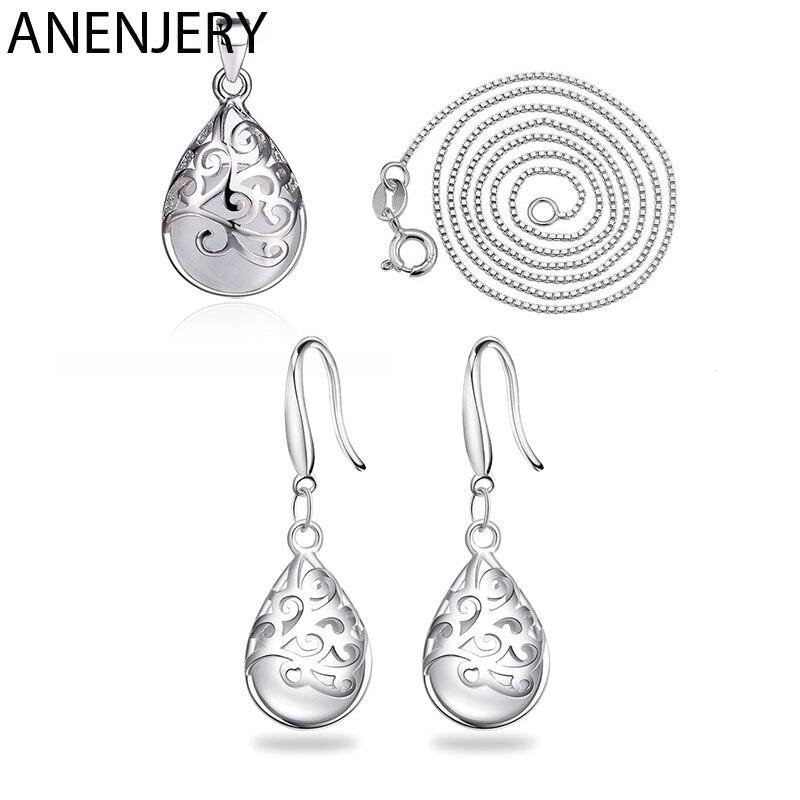 Набор-ювелирных-изделий-evimi-из-стерлингового-серебра-925-пробы-с-лунным-камнем-опалом-слезы-тотемное-ожерелье-серьги-для-женщин-подарок