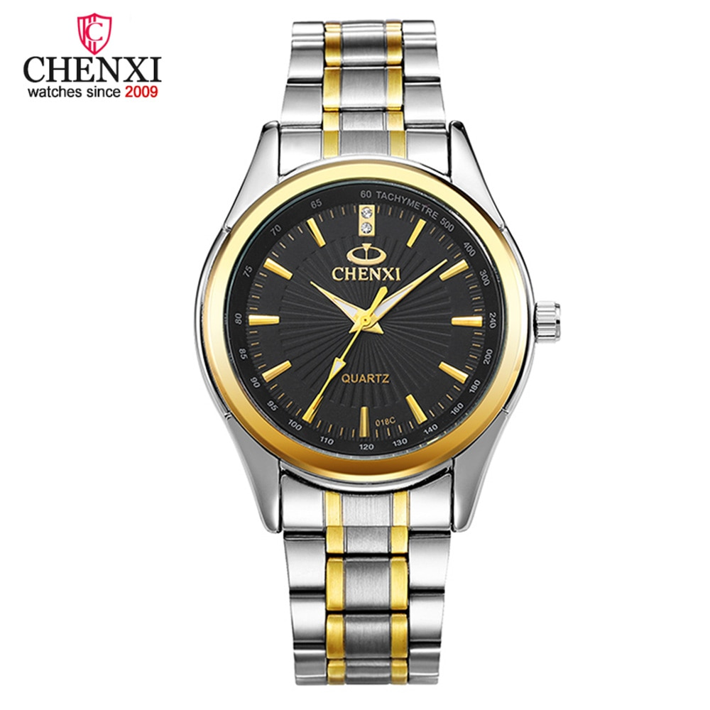 CHENXI Quartz Relojes Hombre 2020-ساعة يد رجالية ، كاجوال ، مقاومة للماء ، رياضية ، ستانلس ستيل ، جيش ، ساعة فاخرة