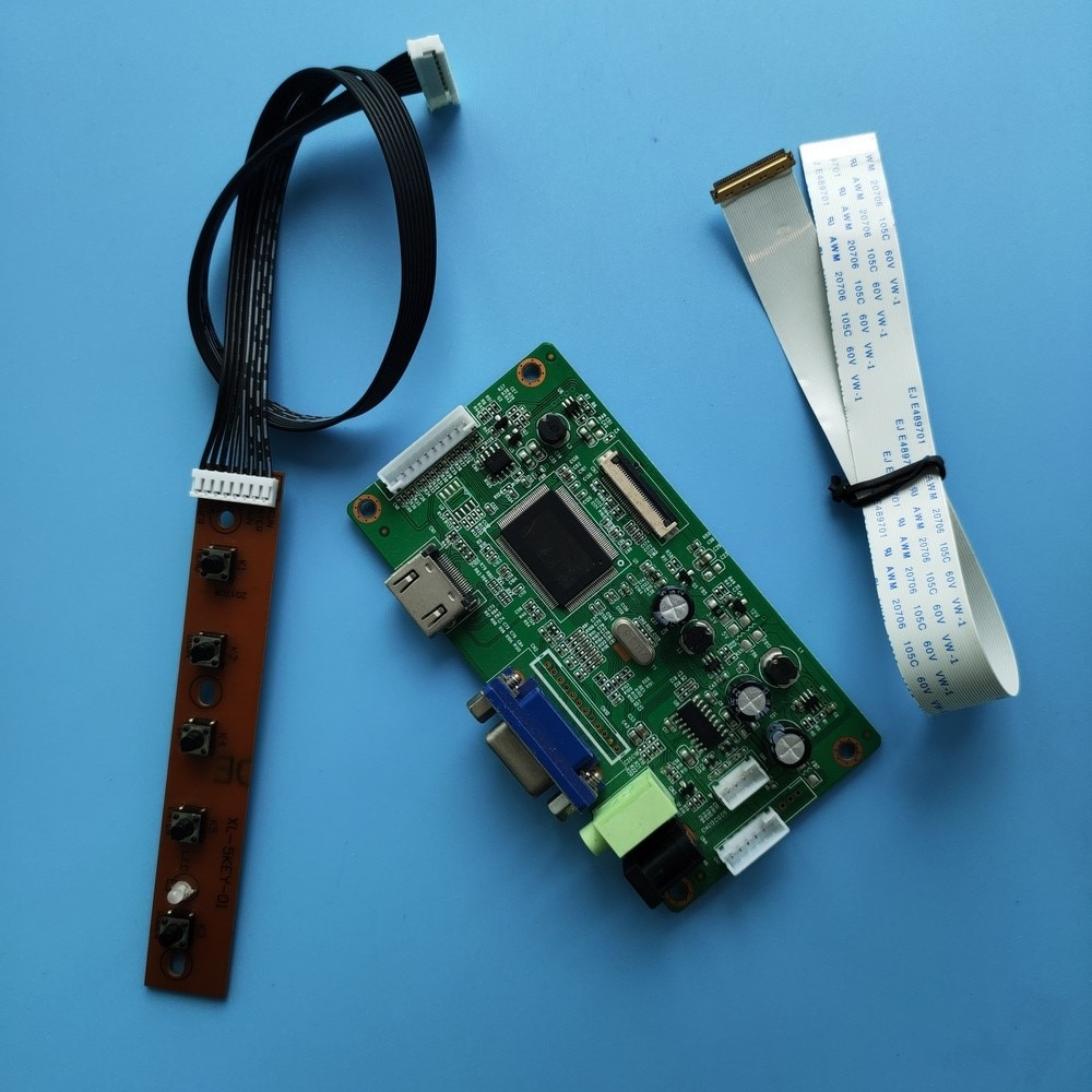 عدة لـ M133NWN1 R3/M133NWN1 R4 1366x768 EDP سائق HDMI VGA لوحة تحكم مراقب 30pin LCD LED لوحة شاشة Dispiay