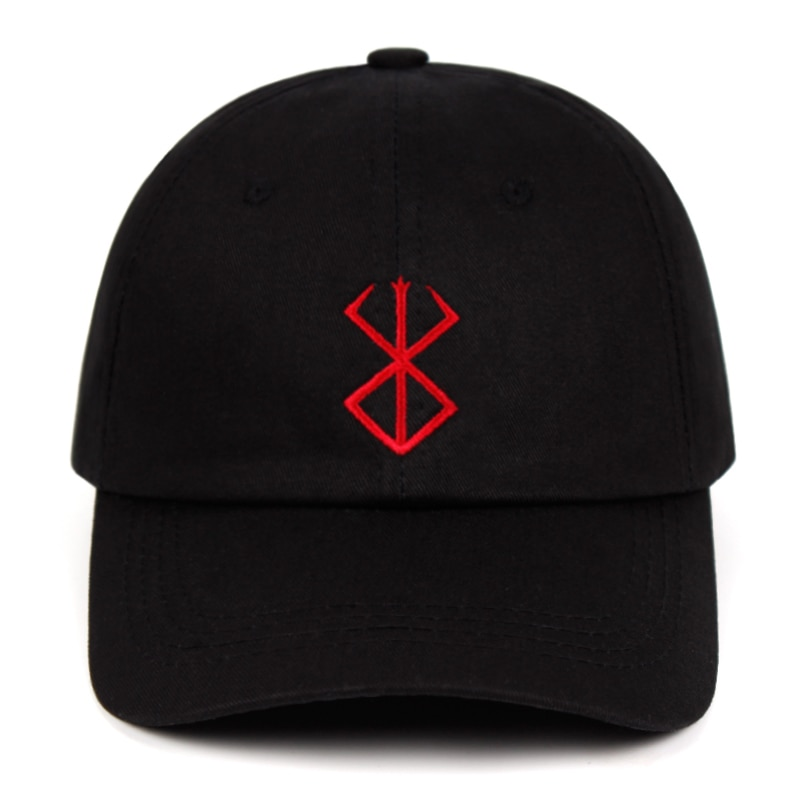 100% algodão berserk pai chapéu kentarou miura comic bonés de beisebol anime fã chapéus para mulher homem snapback berserk