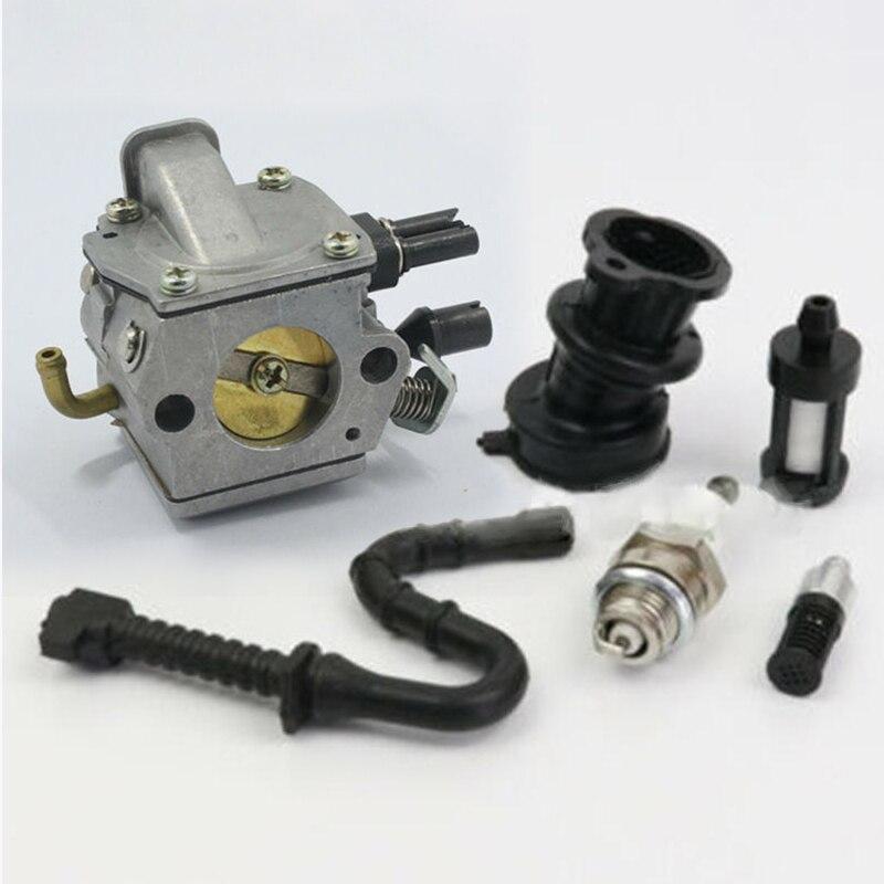 Карбюратор впускного коллектора комплект инструментов MS360 034 036 для Zama C3A-S31A Carb уличное Электрооборудование