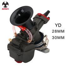 Universal YD 28 30mm Motorrad Vergaser Carburador Carb Mit Power Jet Für Racing Moto Dirt Bike Motocross 125cc-150cc