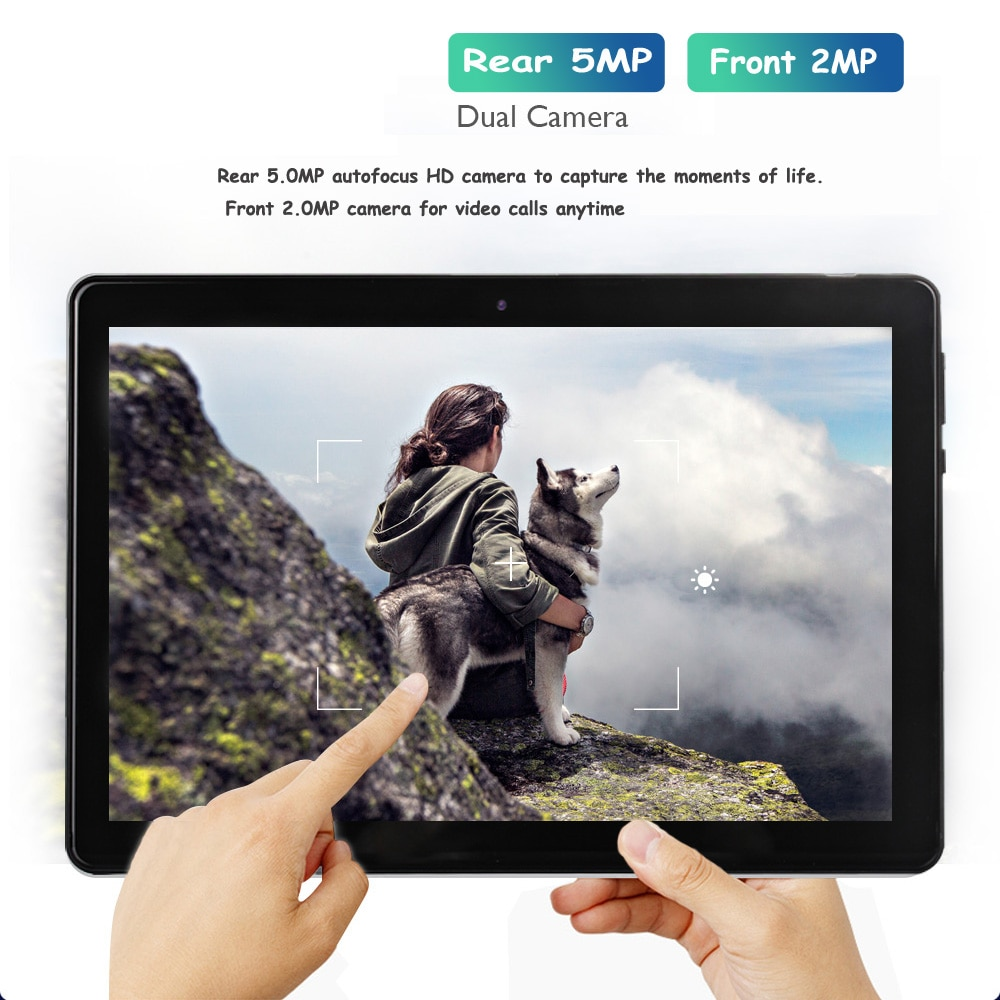 2021 BDF 10.1 Inch Android 9.0 Tablets Pc 3G 4G LTE SIM Card Phone Call WiFi Bluetooth Version Tablet Pad Pc Octa Core 32GB ROM enlarge