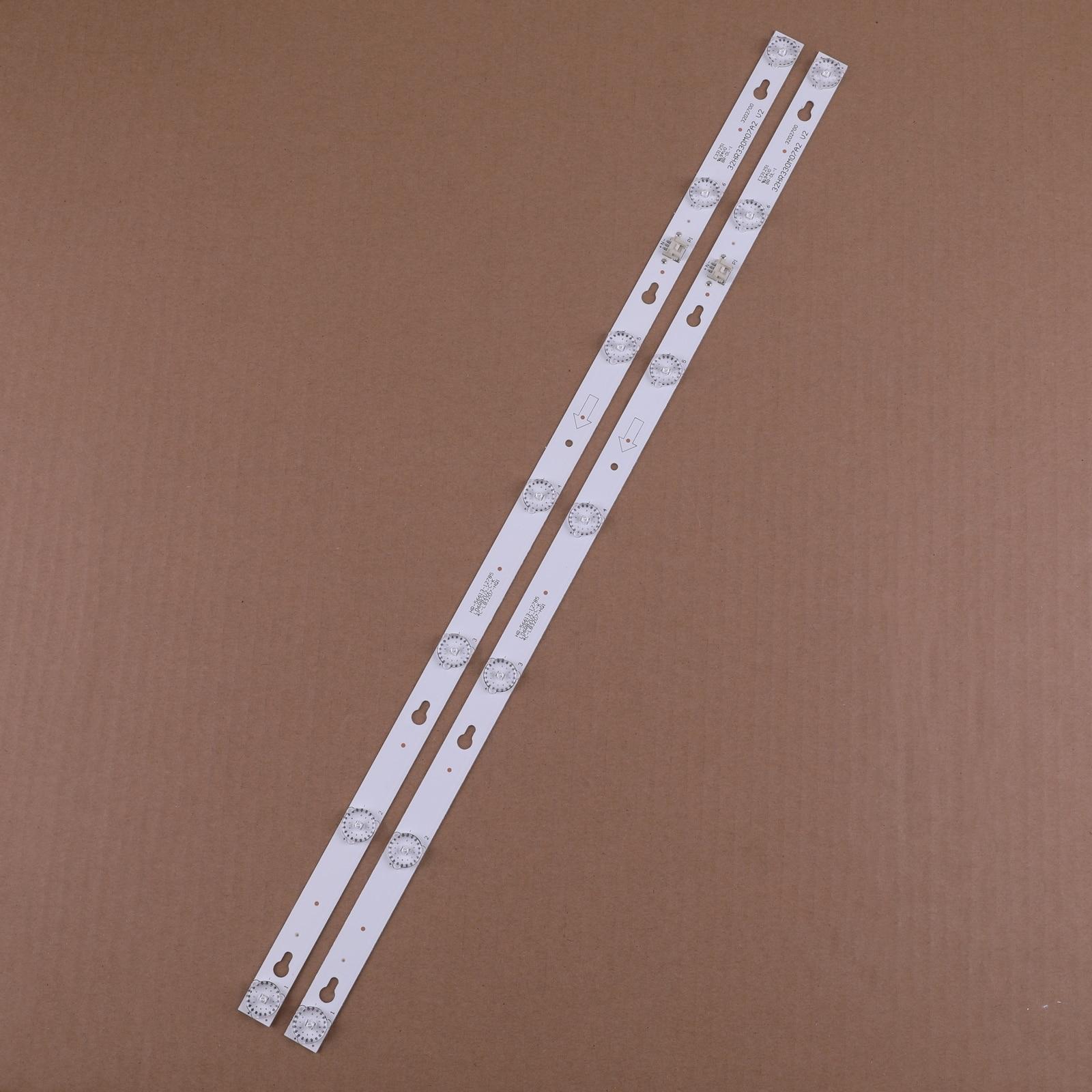 1 Conjunto = 2 uds LED lámpara de luz de fondo de para TCL L32F3303B 32HR330M07A2 TCL L32F3303B M18 para merlot 32M19 32M18