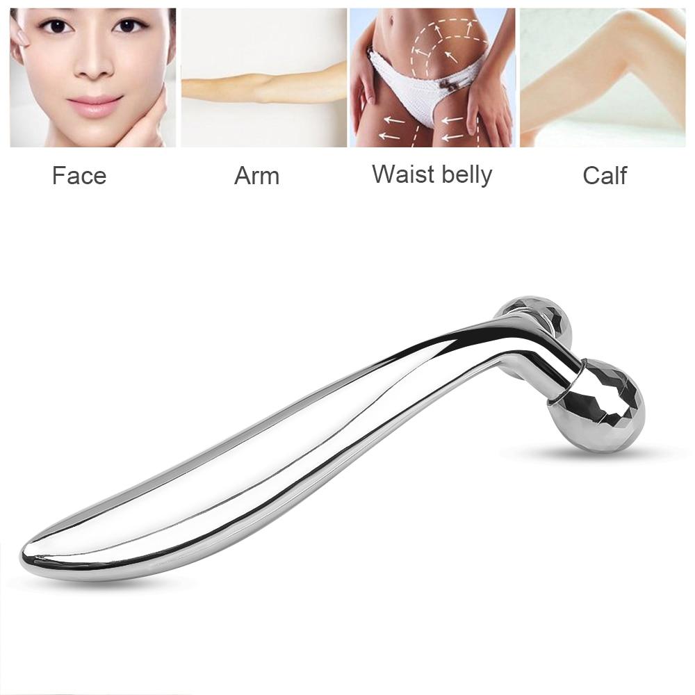 3D роликовый массажер для лица, ручная подтяжка глаз для лица, массажный ролик для подтяжки лица, инструменты для удаления морщин