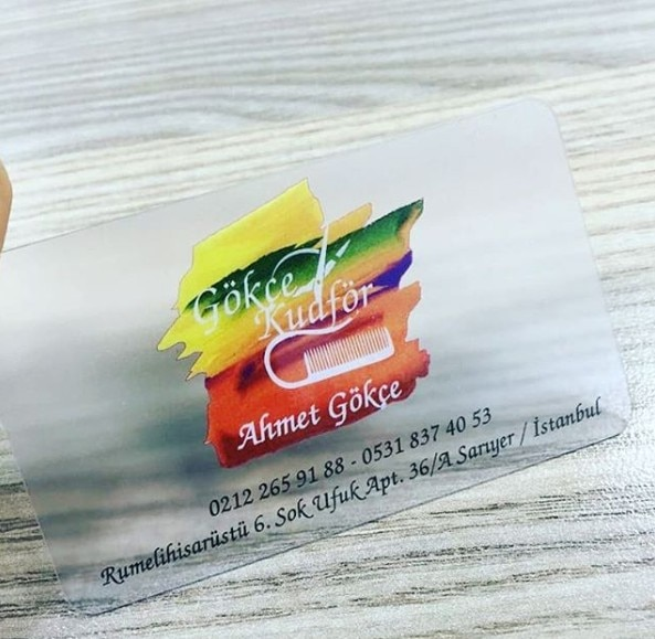 Waterproof plastic membership cards custom pvc transparent 0.38mm Thickness Free Shipping