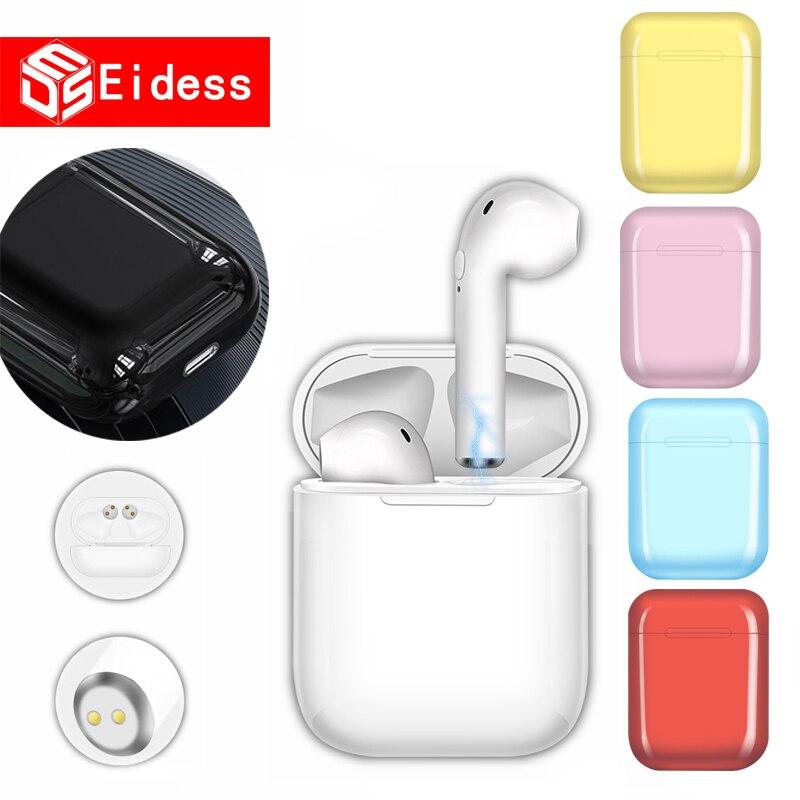 Беспроводные Bluetooth наушники i9s TWS, мини-наушники, гарнитура, зарядное устройство для xiaomi iphone