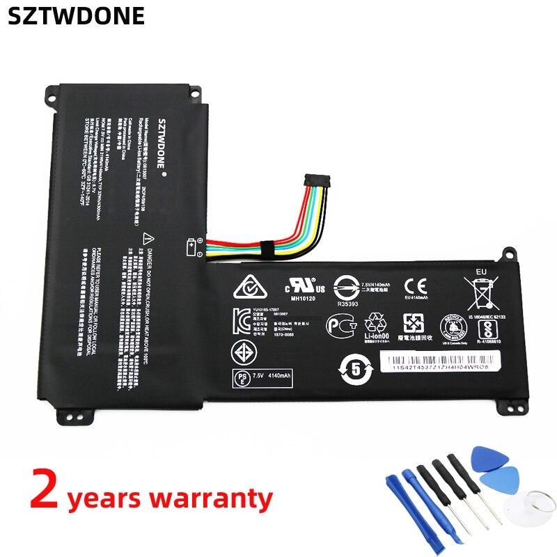Sztwdone 0813007 nova bateria do portátil para lenovo ideapad 120 s série 120s-14iap 5b10p23779 7.5 v 32wh 4300 mah