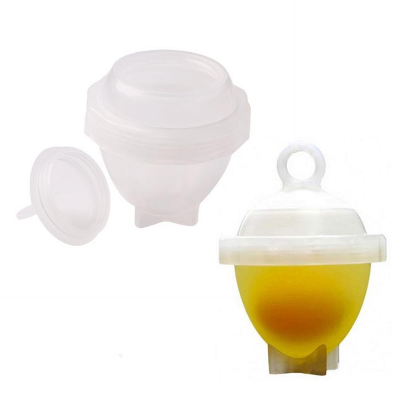 7 pçs/set Egg Cooker Steamer Ovo Separador de Gema de Ovo Utensílios de Cozinha Ferramenta de Cozimento Aparelho Ovo Cozido para a família