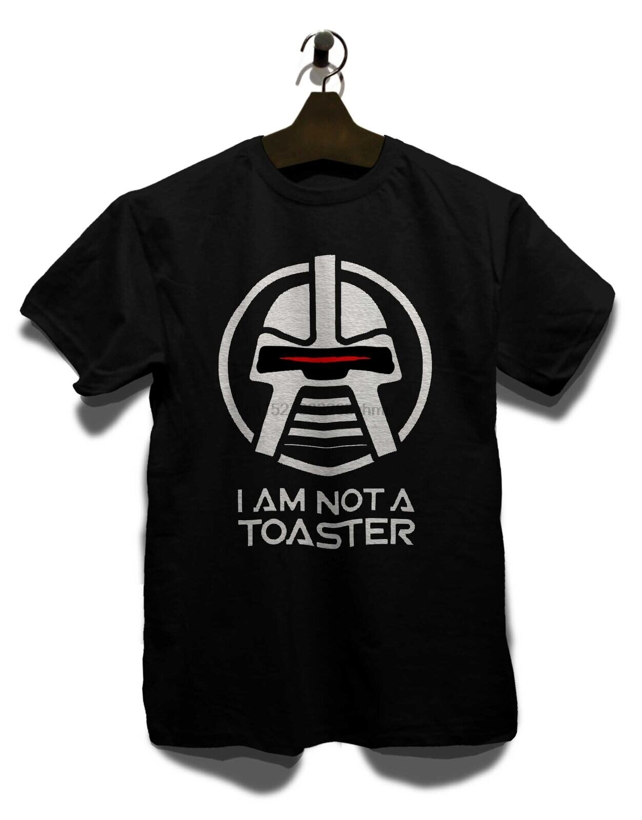 Cylon no soy una tostadora camiseta galáctica Zylon Battelestar Kampfstern