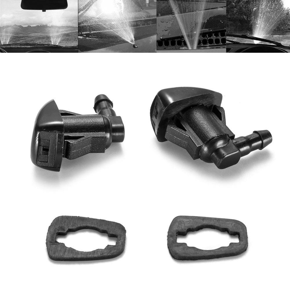 2 шт./компл. переднего лобового стекла автомобиля воды распылитель стеклоочиститель для Toyota E120 Corolla Camry XV30 автомобильные аксессуары 85381-AE020
